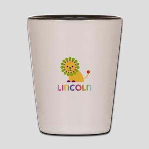 Lincoln Loves Lions Shot Glass