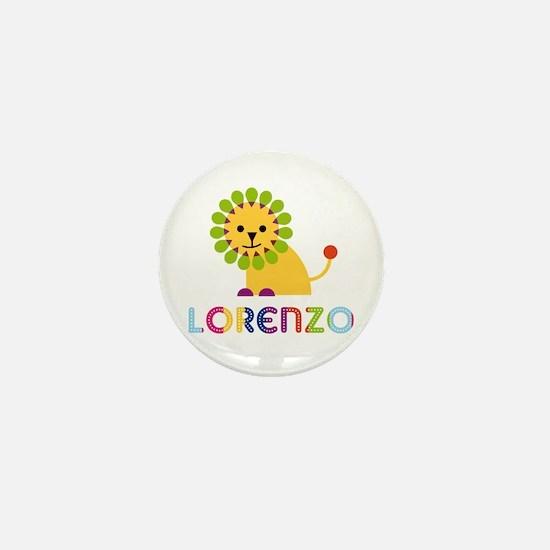 Lorenzo Loves Lions Mini Button