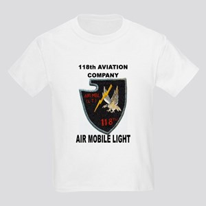 118TH AVIATION COMPANY AIR MOBILE LIGHT Kids T-Shi