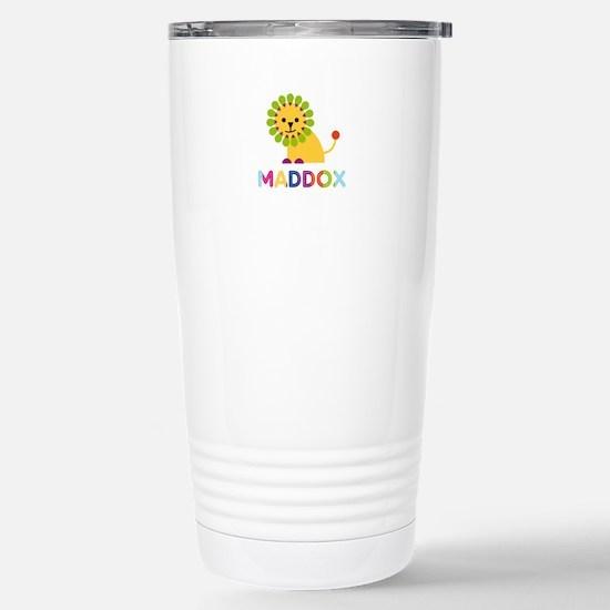 Maddox Loves Lions Travel Mug