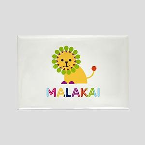 Malakai Loves Lions Rectangle Magnet