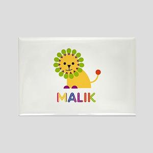 Malik Loves Lions Rectangle Magnet