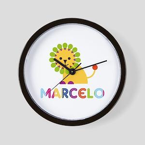 Marcelo Loves Lions Wall Clock