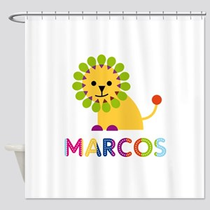 Marcos Loves Lions Shower Curtain