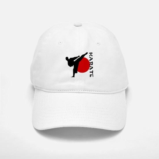 Karate Baseball Baseball Baseball Cap