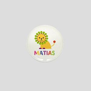Matias Loves Lions Mini Button