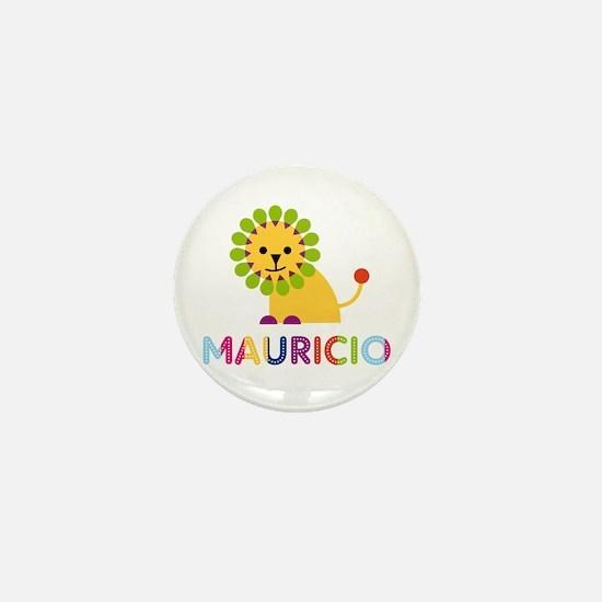 Mauricio Loves Lions Mini Button