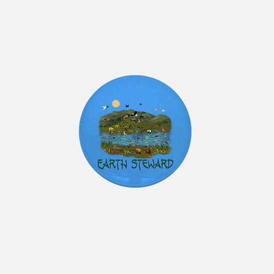 Earth Steward Mini Button