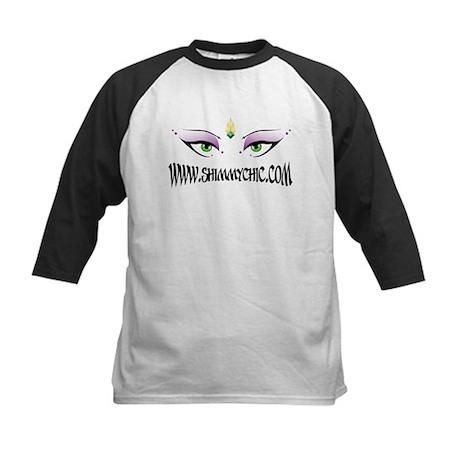 New Shimmy Chic Logo Design Kids Baseball Jersey