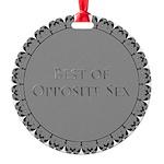 Best Of Opposite Sex Medallion