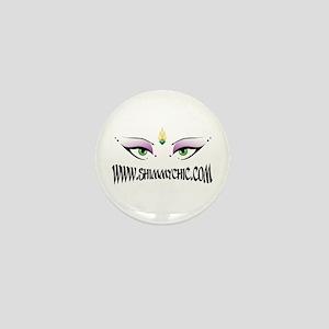 New Shimmy Chic Logo Design Mini Button