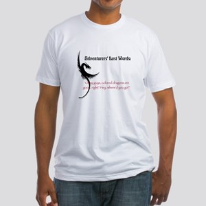 Dragons are good Fitted T-Shirt