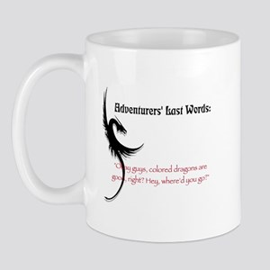 Dragons are good Mug