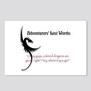 Dragons are good Postcards (Package of 8)