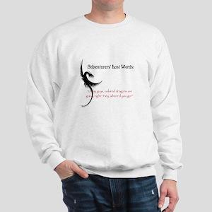 Dragons are good Sweatshirt