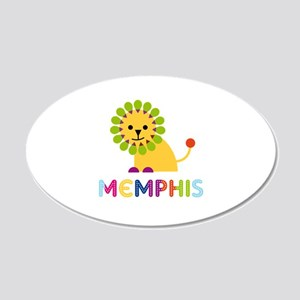 Memphis Loves Lions Wall Decal