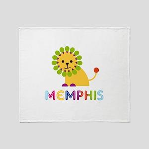 Memphis Loves Lions Throw Blanket
