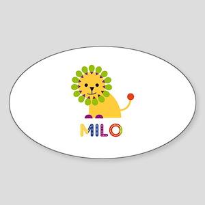 Milo Loves Lions Sticker