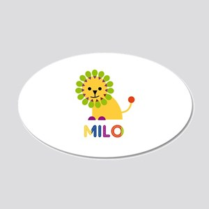 Milo Loves Lions Wall Decal