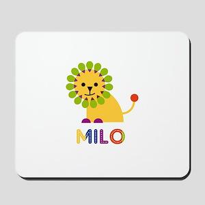 Milo Loves Lions Mousepad