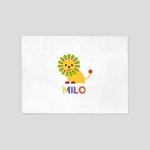 Milo Loves Lions 5'x7'Area Rug