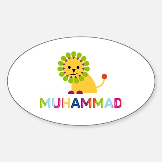 Muhammad Loves Lions Decal