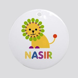 Nasir Loves Lions Ornament (Round)
