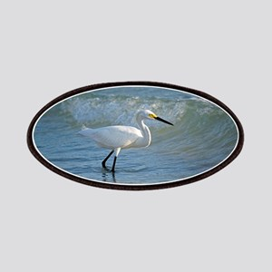 Snowy egret Patches
