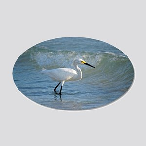 Snowy egret Wall Decal
