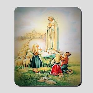Our Lady of Fatima 1917 Mousepad