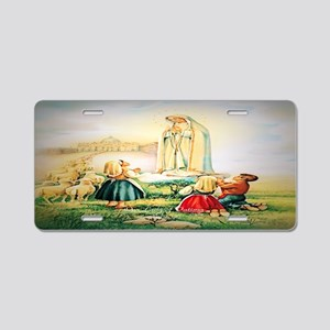 Our Lady of Fatima 1917 Aluminum License Plate