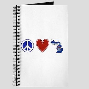 Peace Love Michigan Journal