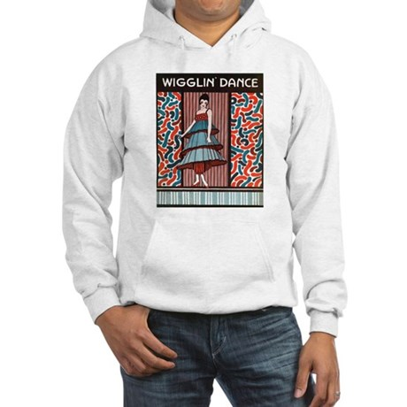 Vintage Wigglin Dance Hooded Sweatshirt
