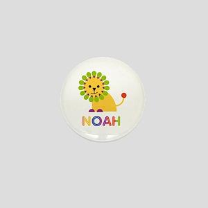 Noah Loves Lions Mini Button