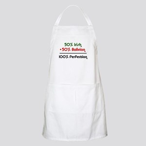 Irish and Bolivian BBQ Apron