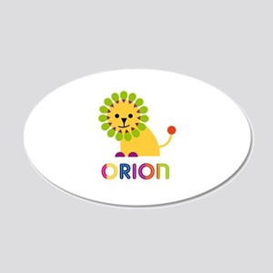 Orion Loves Lions Wall Decal