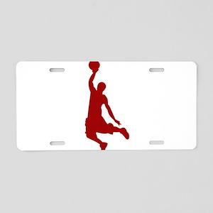 Basketball player Slam Dunk Silhouette Aluminum Li
