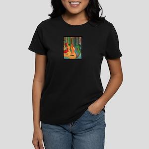 Strings Women's Dark T-Shirt
