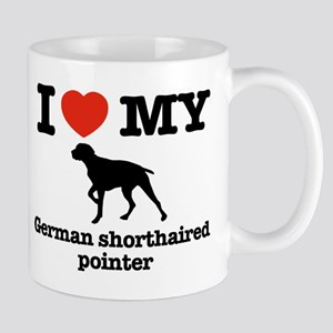 i love my german shorthaired pointer Mugs