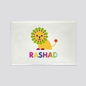 Rashad Loves Lions Rectangle Magnet