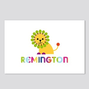 Remington Loves Lions Postcards (Package of 8)