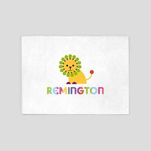 Remington Loves Lions 5'x7'Area Rug