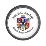 Order of the Bowl Wall Clock