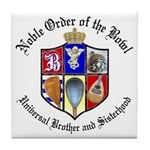 Order of the Bowl Tile Coaster