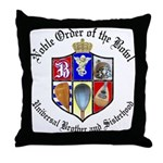 Order of the Bowl Throw Pillow