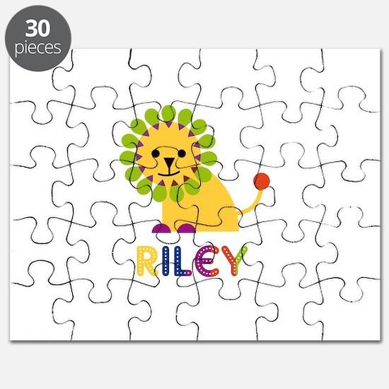 Riley Loves Lions Puzzle