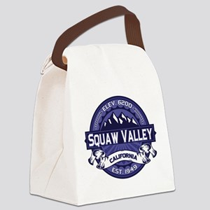Squaw Valley Midnight Canvas Lunch Bag
