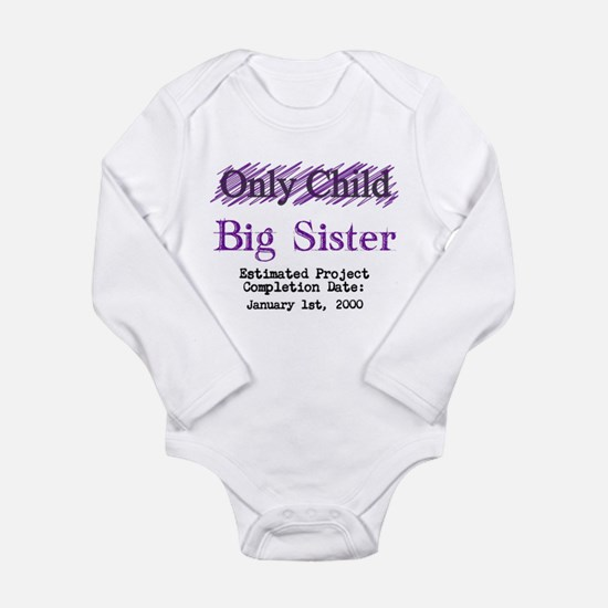 Only Child - Big Sister - Personalized! Body Suit