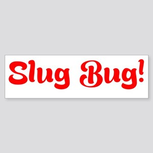 Slug Bug Bumper Sticker Bumper Sticker