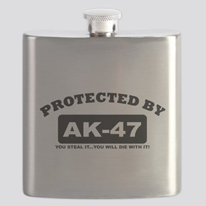 property of protected by ak47 b Flask